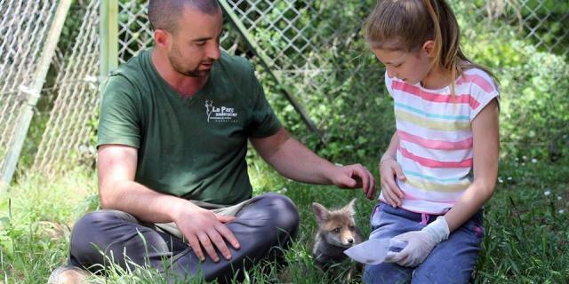 Clement Soigneur D Un Jour Parc Animalier Gramat