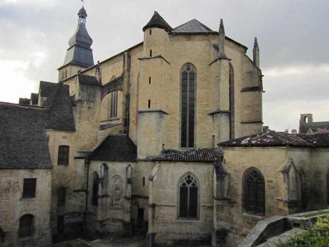 Cathédrale Saint Sacerdos De Sarlat Vue Du Chevet