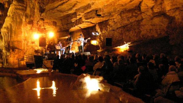 Concert grottes de Lacave