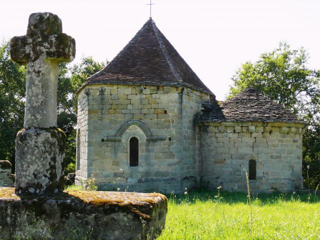 Curemonte Eglise Saint Hilaire De La Combe 3
