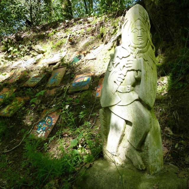 Sentier Art Nature Lot Tourisme C. Sanchez