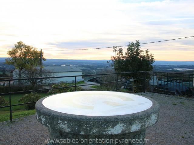 Table Orientation Labastide Haut Mont