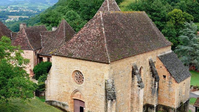 Collégiale Saint Louis Du Château De Castelnau Bretenoux 2