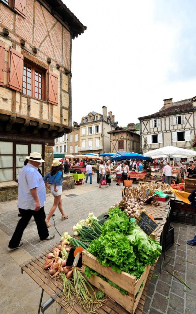Marché,foire St Céré©otvd C.ory.5091