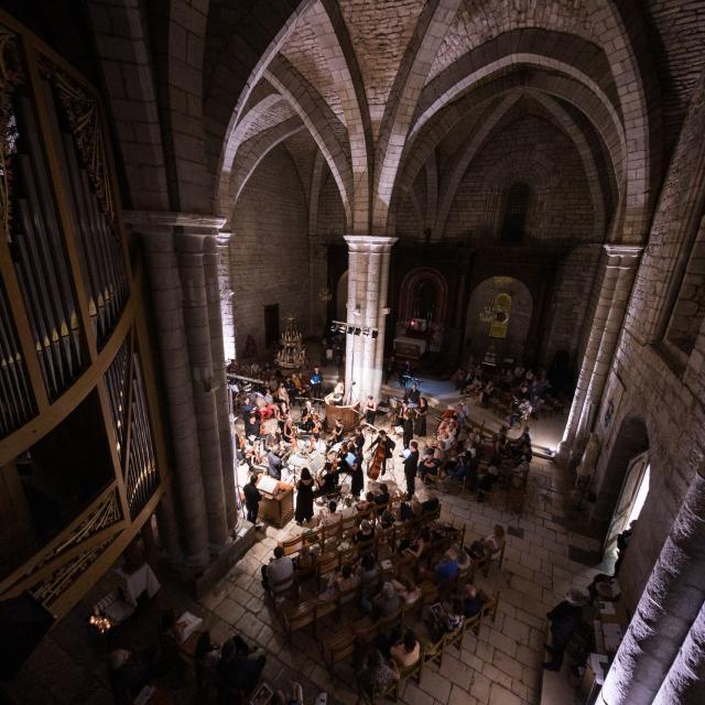 Basilique Saint Sauveur Festival Rocamadour Credits Louis Nespoulous (1)