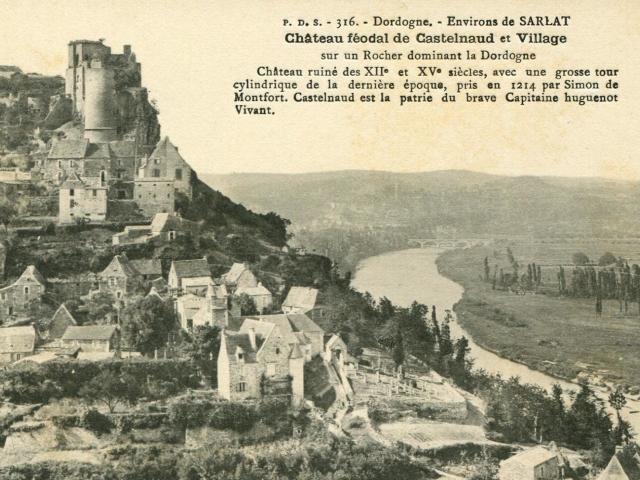 Carte Postale Castelnaud 1