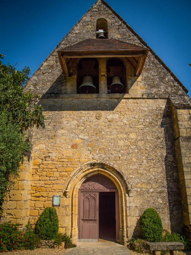 Eglise La Roque Gageac @sarlat Tourisme