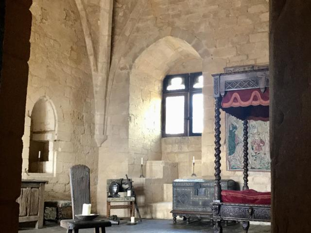 Chambre du Château de Beynac
