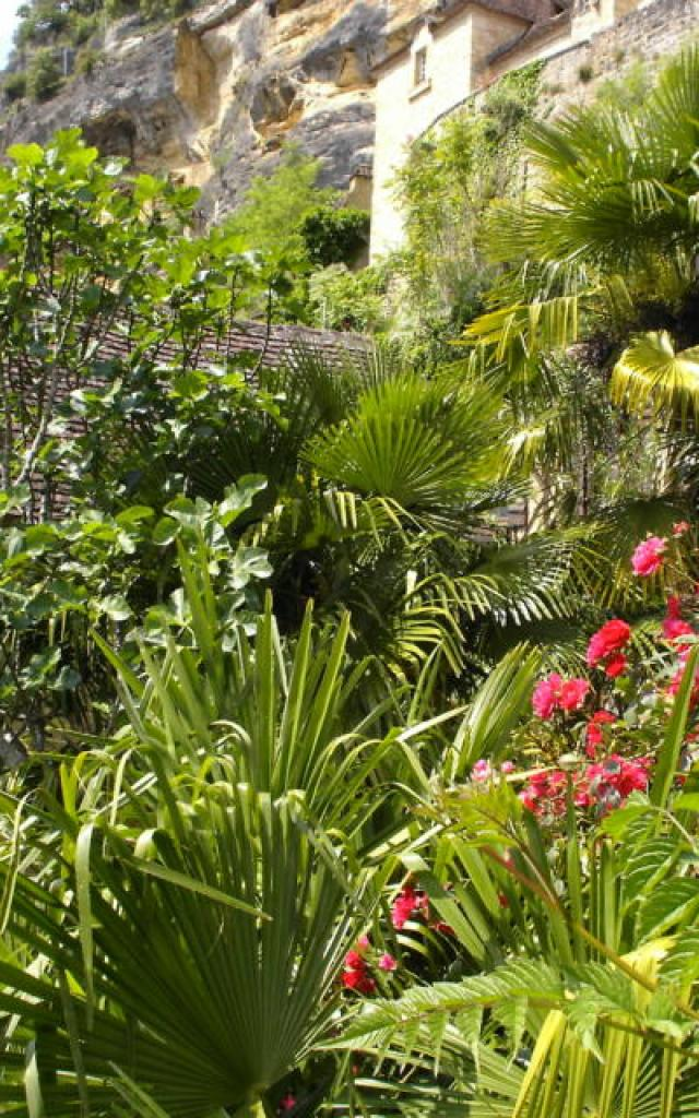 Jardin exotique - La Roque-Gageac