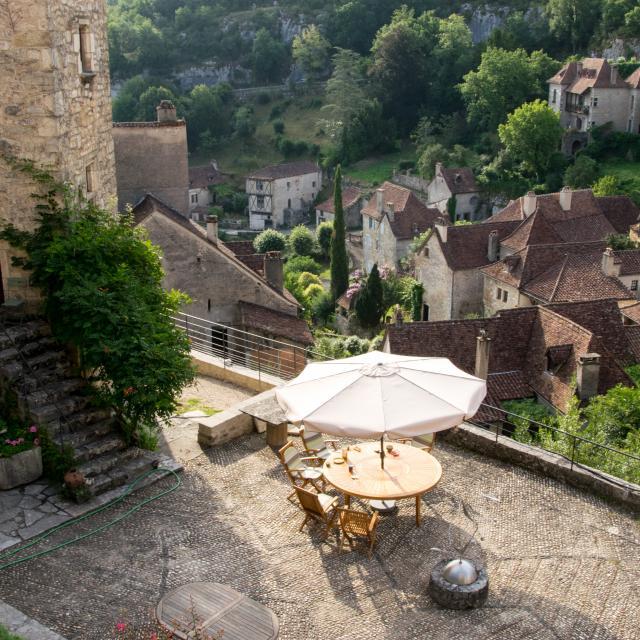Coeur du village de Saint-Cirq-Lapopie