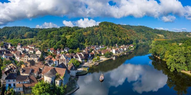 Beaulieu-sur-Dordogne : Gabare