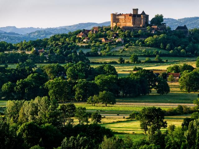 Le château de Castelnau-Bretenoux.