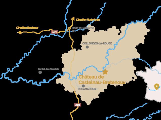 Chateau De Castelnau Bretenoux