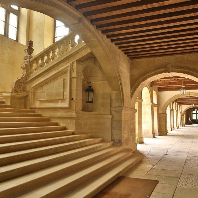 Escalier du Chateau De Hautefort