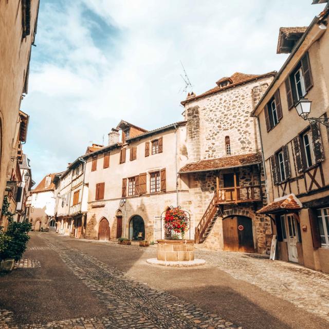 Beaulieu-sur-Dordogne, rue Sainte-Catherine