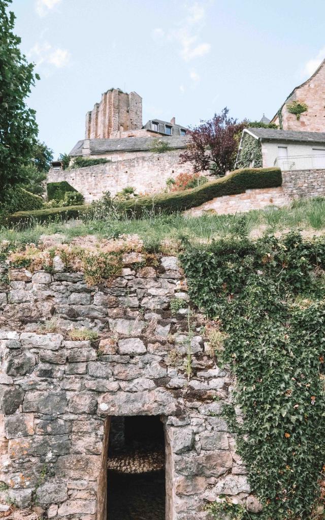 Turenne et ses anciens remparts