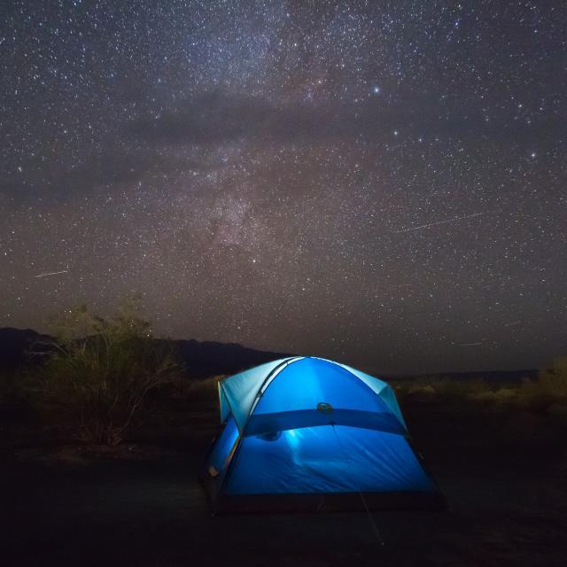 Bivouac en tente