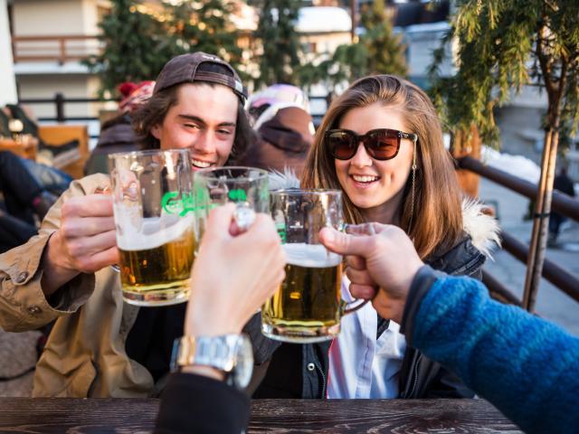 Après Ski au Pub Mont-Fort