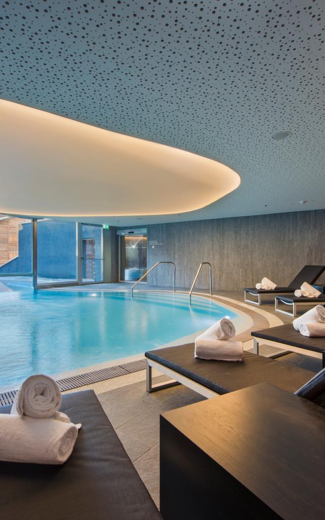 Away Spa des 5-Sterne-Hotels W Verbier