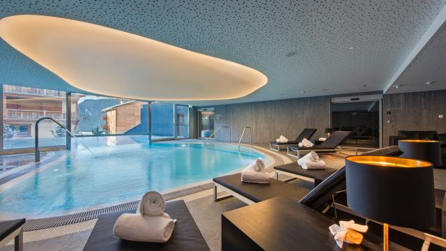 Away Spa at the 5-star hotel W Verbier