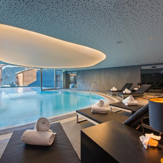Away Spa of the 5-star hotel W Verbier
