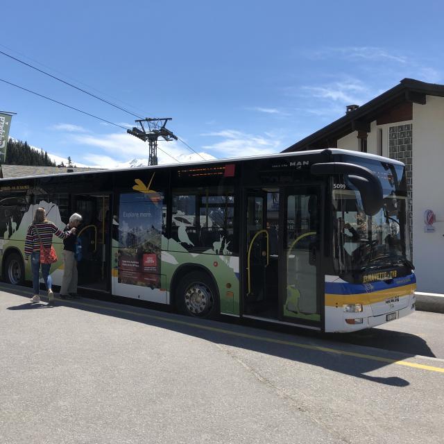 Bus navette Verbier