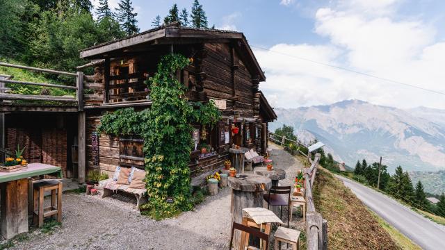 Maison de la Forêt (Espace Nature) à La Tzoumaz
