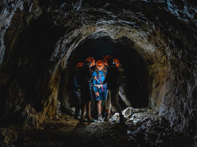 Découverte de la Mine du Mont-Chemin