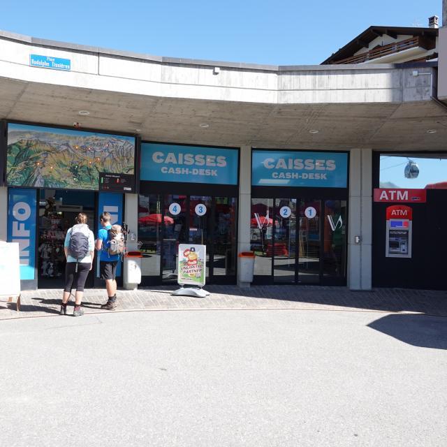Verbier-CaisseTVSA-Bancomat / Médran Bancomat / Médran
