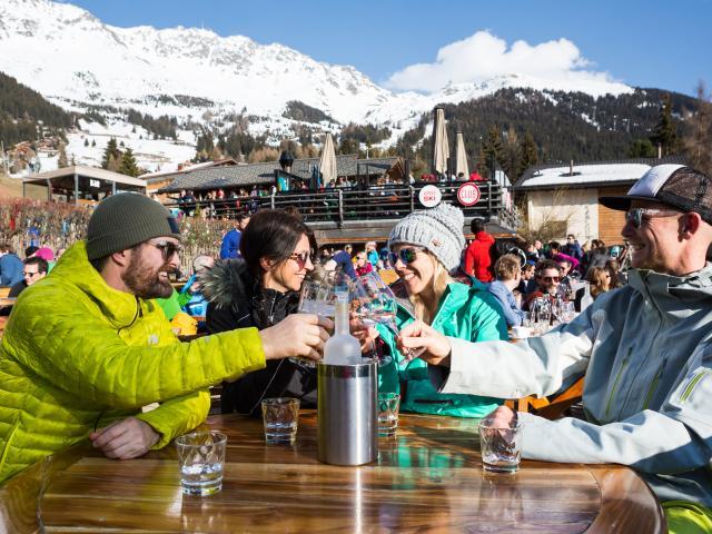 Après-Ski at Le Rouge