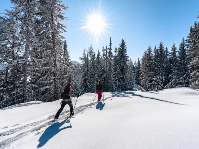 Sortie en ski de randonnée sur le parcours Moay - La Pasay