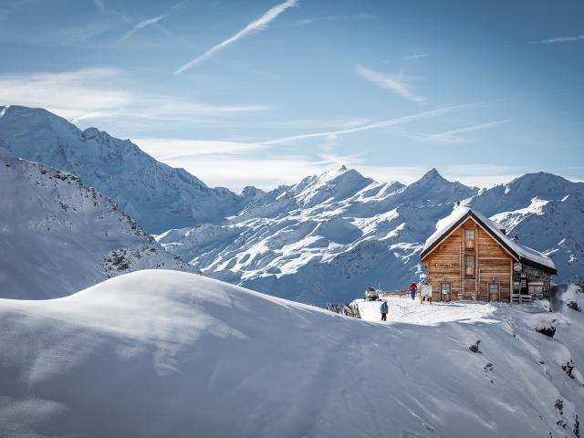 Mont-Fort hut, Verbier