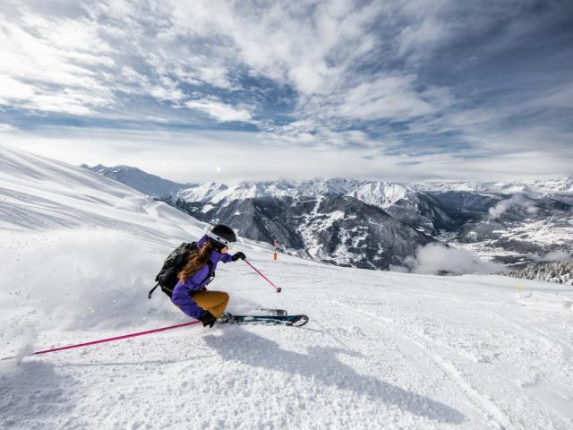 Verbier - Ski piste Fontanet
