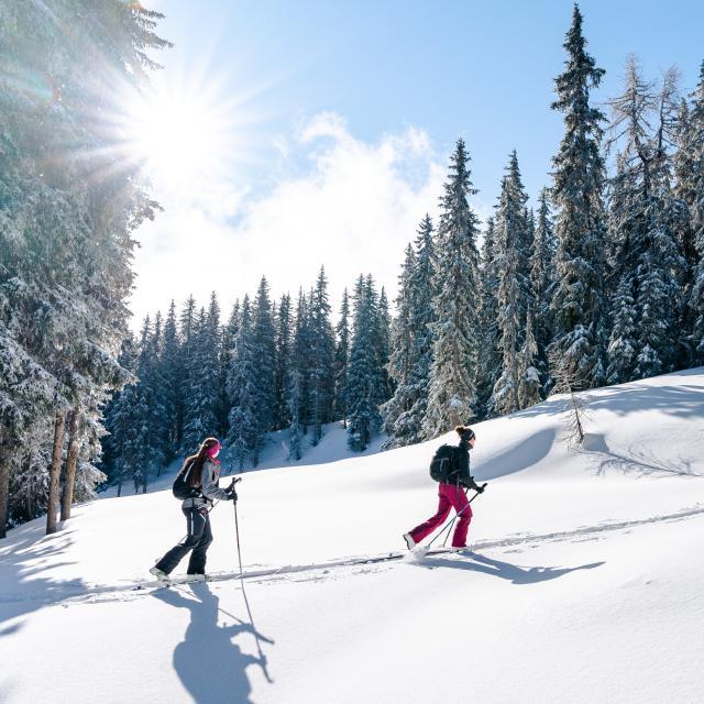 Ski de randonnée dans la région de Verbier