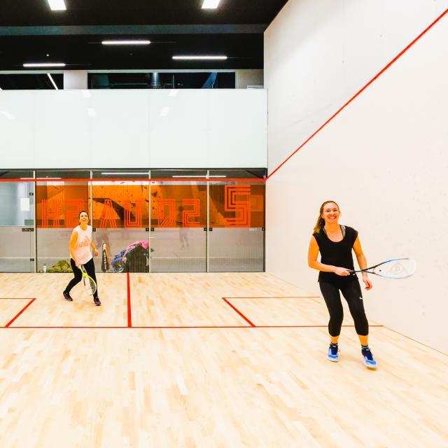 Squash au Centre Sportif de Verbier