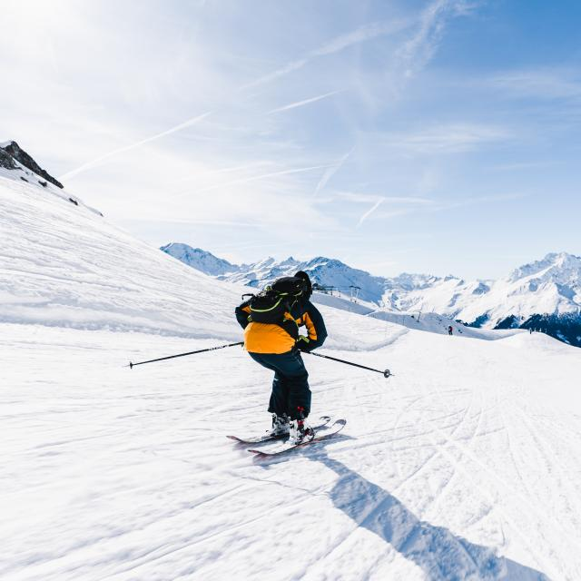 Ski de piste à Verbier 4 Vallées