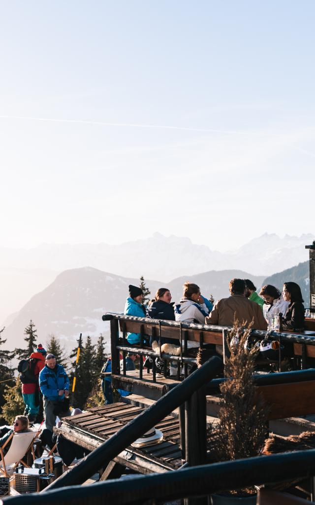 Terrasse du restaurant Chez Dany