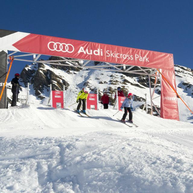 Audi Skicross Park