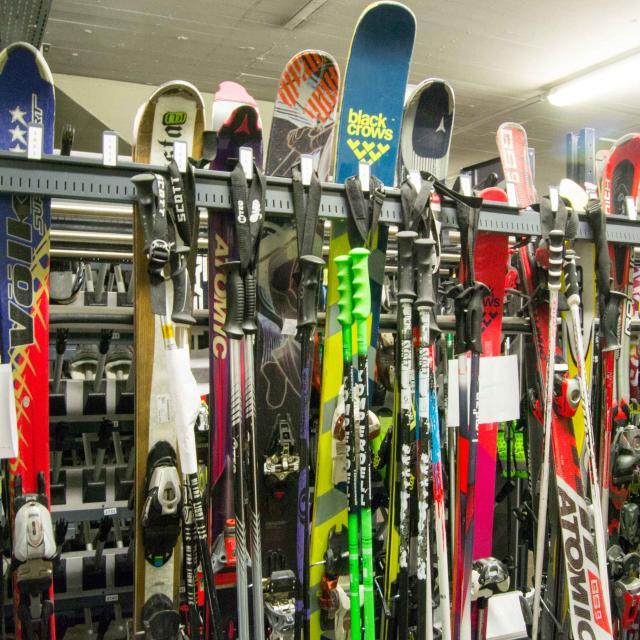 Consignes à ski