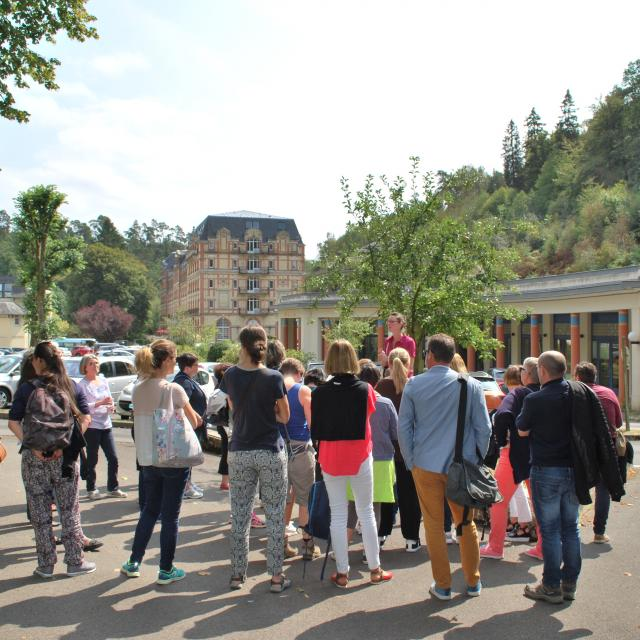 Bagnoles Orne Thermes Visite