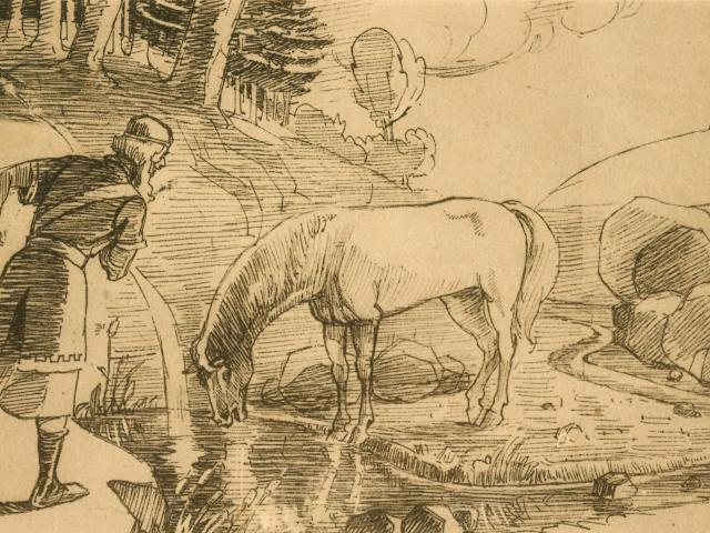 bagnoles-orne-legende-sir-hugues-cheval-rapide