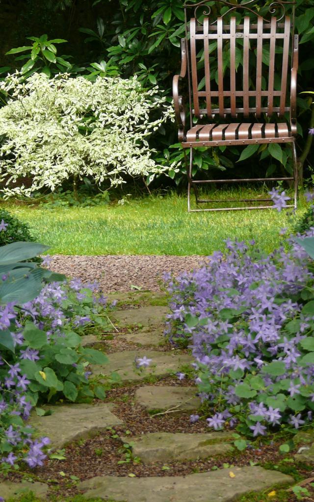 Bagnoles Orne Jardin Retire Fleur Nature Plante Arbre Remarquable Annie Blanchais 3