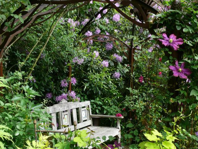 Bagnoles Orne Jardin Retire Fleur Nature Plante Arbre Remarquable Annie Blanchais 5