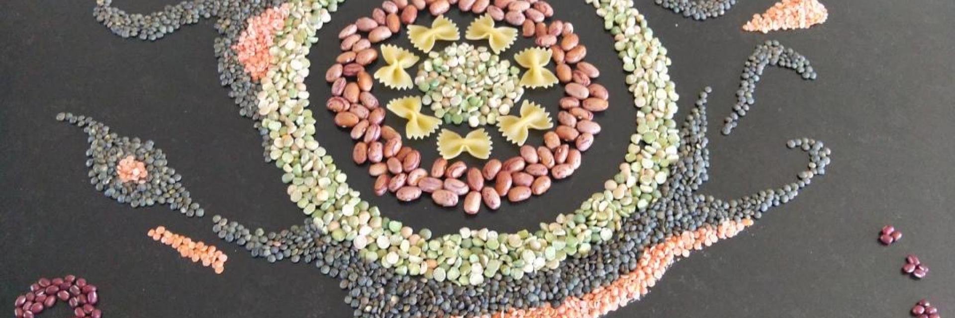 Bagnoles Orne Land Art Activite Confinement Creativite Nourriture Aliments