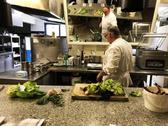 Bagnoles Orne Manoir Lys Atelier Cuisine Retour Marche Gastronomie Terroir Chef Etoile Assiette Cours 2