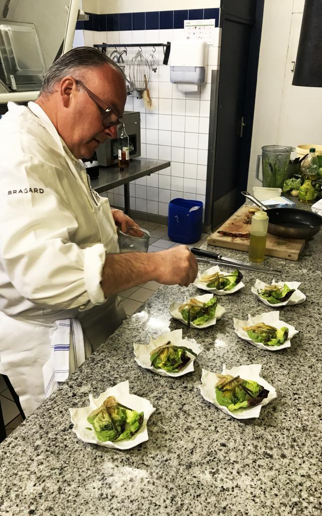 Bagnoles Orne Manoir Lys Atelier Cuisine Retour Marche Gastronomie Terroir Chef Etoile Assiette Cours 5