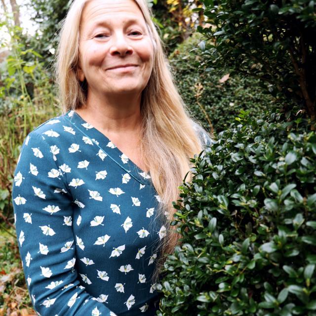Bagnoles Orne Jardin Retire Annie Blanchais Fleurs Plantes Nature Visite