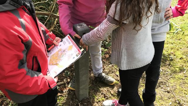 Bagnoles Orne Parcours Orientation Enfant Balise Carte Plan Scolaire 2