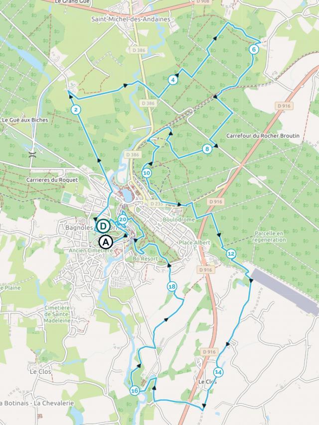 Marche Nordique 21 km - BNT