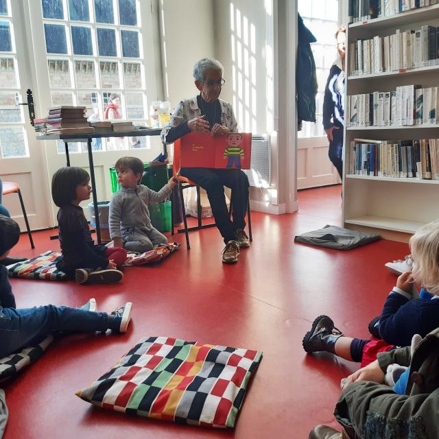 Bagnoles Orne Ville Enfants Animation Lecture Conte Histoire